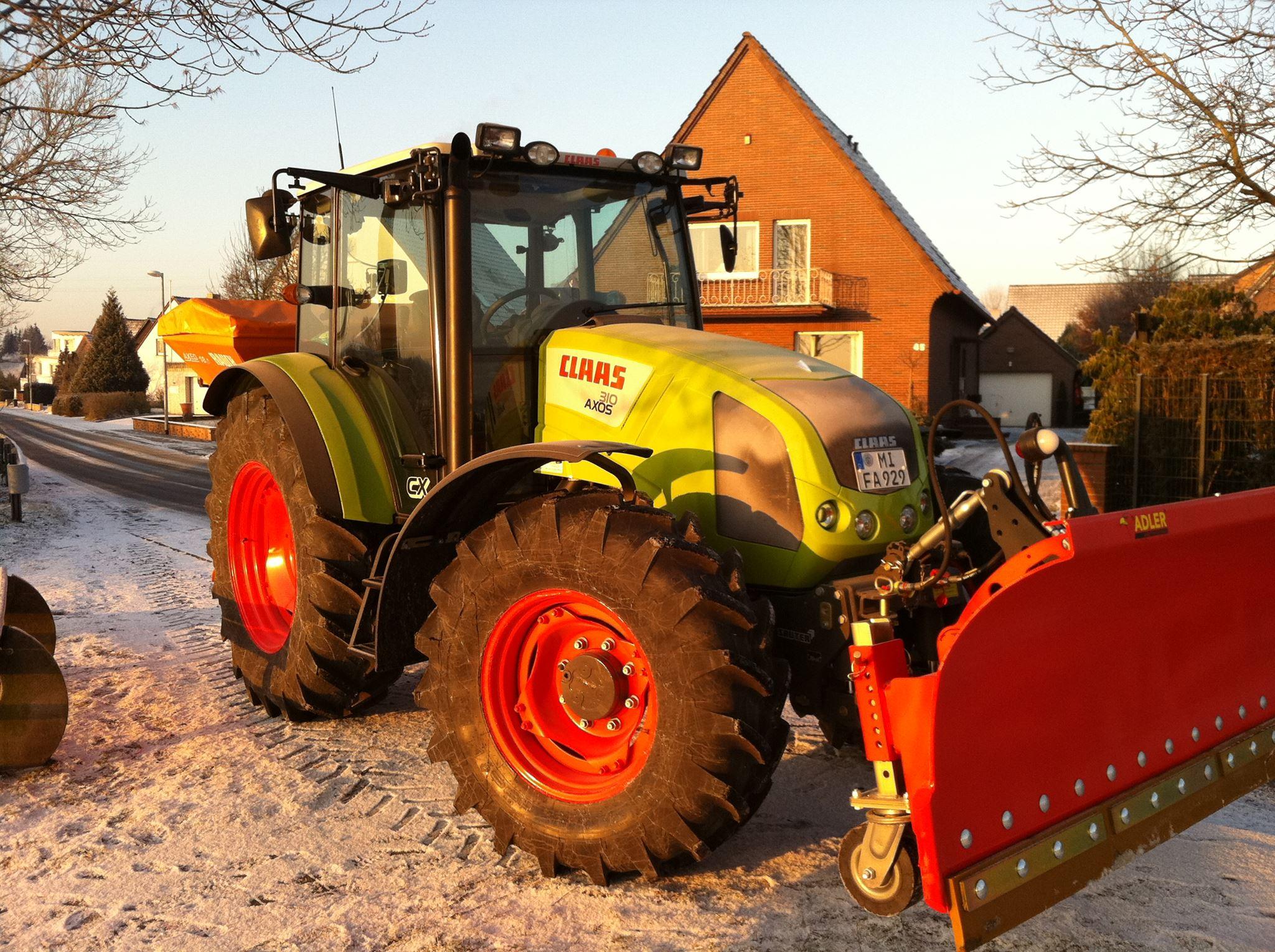 Winterdienst auf Gewerbeflächen in Löhne