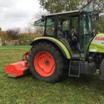 Wiese gemäht Mulchen von Grasflächen in Bad Oeynhausen
