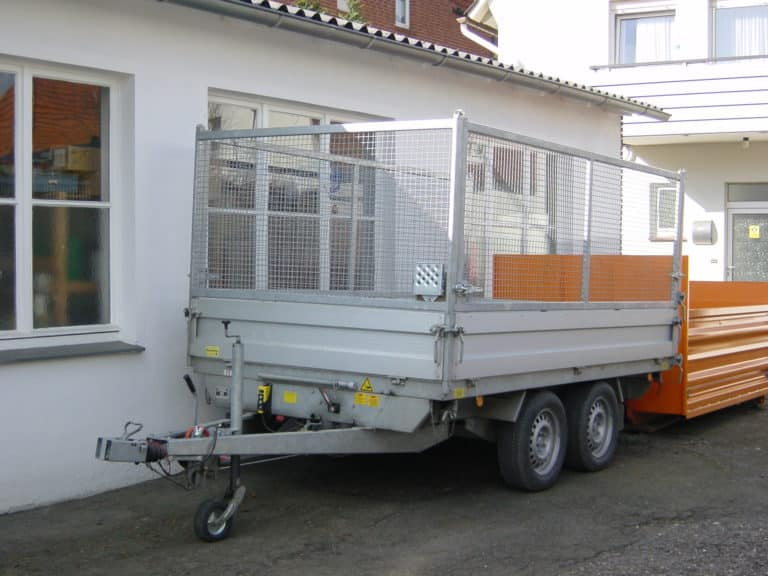 Materialtransport Anhänger
