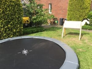 Trampolin Transport Teleskopradlader Bad Oeynhausen
