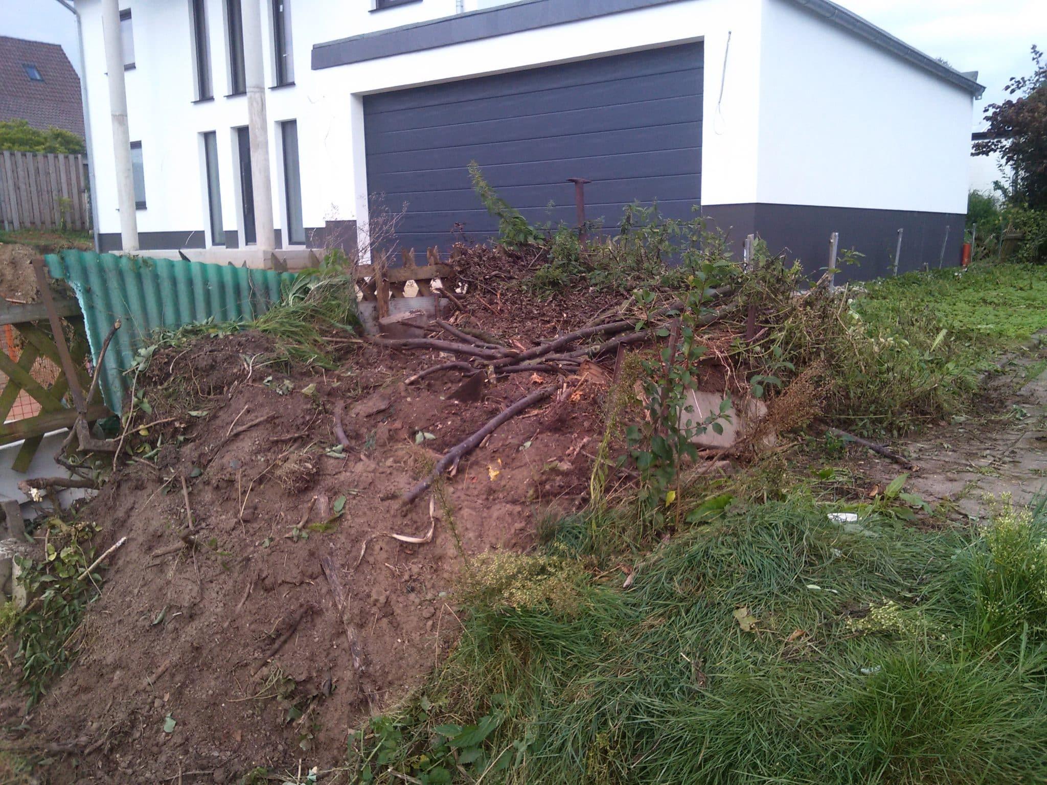 Entfernung Komposthaufen Bad Oeynhausen