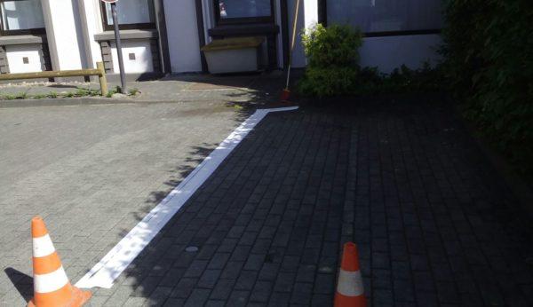 Sanierung Parkplatz