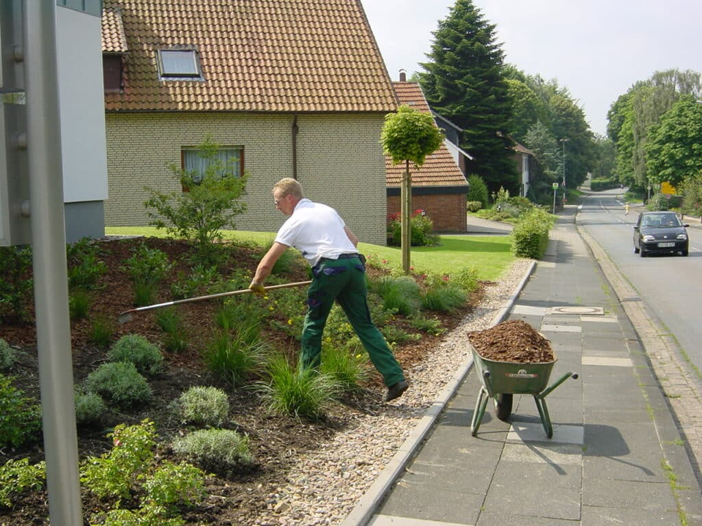 Rindenmulch für Beete in Bad Oeynhausen