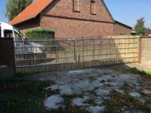 Staketenzaun Tor Bad Oeynhausen