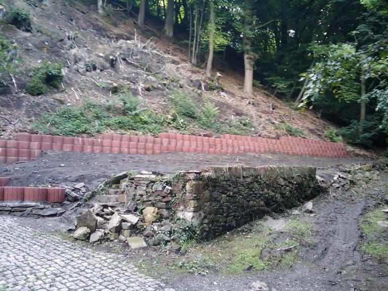 Stützmauer Vlotho