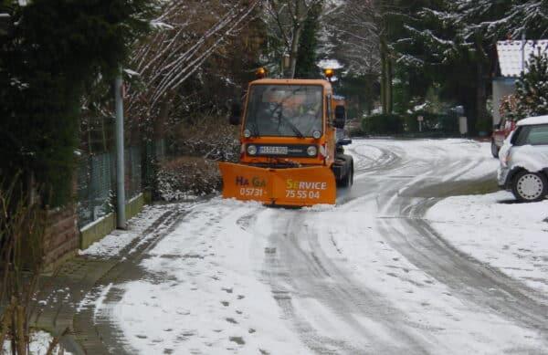 Winterdienst auf Gewerbeflächen Bad Oeynhausen