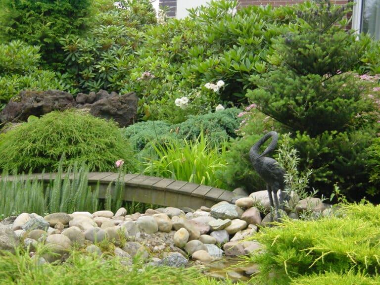 Gartengestaltung im Privatgarten Bad Oeynhausen